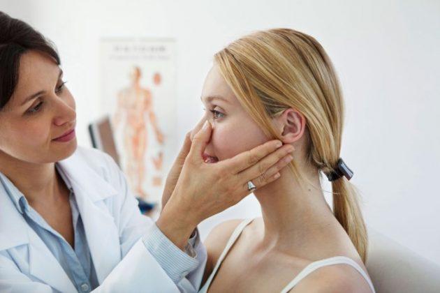 Пациентка с куперозом кожи
