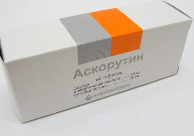 Препарат от варикоза вен на ногах Аскорутин