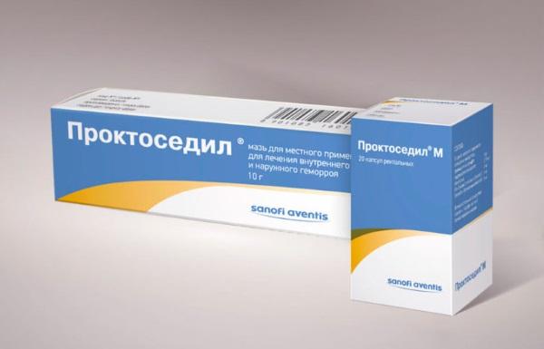Свечи от геморроя проктоседил действующее вещество, российские.