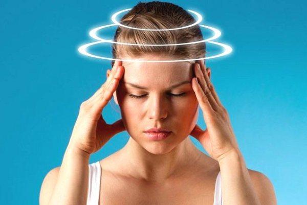 головокружение - побочный эффект свечей бетиол