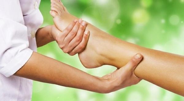 массаж при онемении в ногах