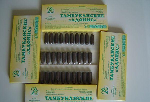 Свечи Тамбуканские «Адонис»